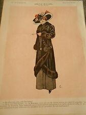 Création de Channel Jolie Parisienne Girl Print Art Déco 1909