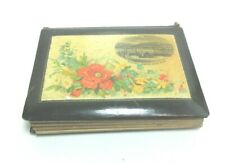 ANTIQUE BLACK MAUCHLINE PHOTOGRAPH ALBUM CDV RAMSEY FROM NEW PIER