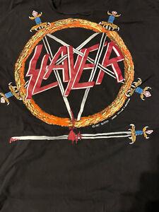 Slayer vintage shirt XL thrash speed metal