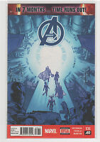 Avengers (Volume 5) #36 Captain America Wolverine Hulk Iron Man Spiderman 9.6