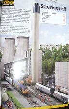 HS Graham Farish Scenecraft  42-297 Low Relief Kühlturm Kraftwerk L105xW210xH280