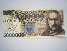 5,000,000 złotych-Józef Piłsudski