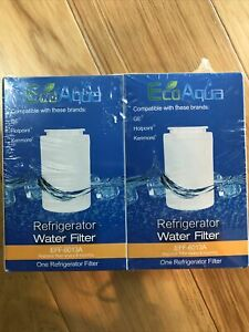New EcoAqua Water filter EFF-6013A 2 pack GE Hotpoint Kenmore