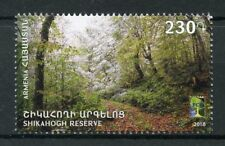 Armenia 2018 MNH RCC Shikahogh Nature Reserve 1v Set Trees Nature Stamps
