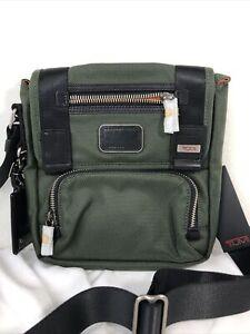 TUMI Alpha Bravo Barstow Ballistic Nylon Crossbody Shoulder Travel Messenger Bag