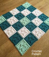 CROCHET PATTERN for Baby Blanket - Star Motifs by Peach.Unicorn