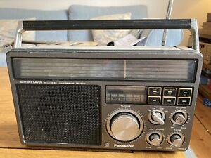 Panasonic RF-1405LBE Radio World Receiver FM MW LW SW Shortwave Radio - Vintage