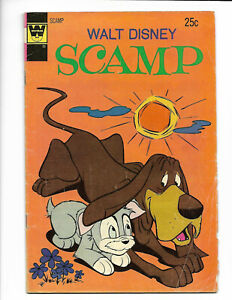 Scamp #18 Whitman 1974 GD/VG 3.0 Walt Disney.
