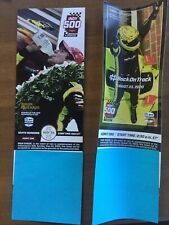 2020 Indy 500 Ticket Stub Both May 24 + August 23 Dates Free shipping