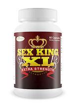 SEX KING XL Male Sex Enhancement Penis Enlargement Hard Long Erection Pills