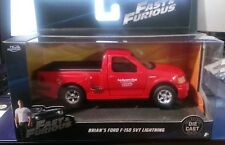 JADA TOYS 1/32 W/B FAST AND THE FURIOUS BRIAN'S 1999 FORD F-150 SVT NEW IN STOCK