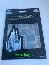 Disney Parks Cinderella Castle Metal Earth 3D Model Kits - NEW