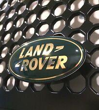 Land Rover Defender 90 110 Front Aluminum Grille Badge / Emblem Mount (GREEN)