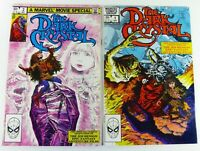 Marvel THE DARK CRYSTAL (1982) #1-2 SET NETFLIX VF to VF/NM Ships FREE!