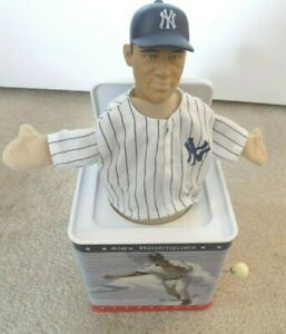 Alex Rodriguez New York Yankees Musical Jack in The Box--FREE SHIPPING!