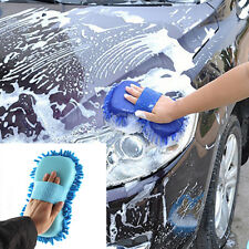 New Brush Sponge Pad Microfiber Chenille Car Vehicle Care Cleaning Washing Tools