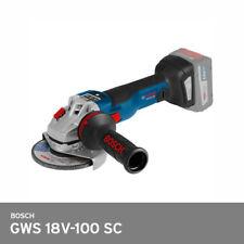 "Bosch GWS 18V-100 SC Angle Grinder 4"" Brushless 1000W Kickback IoT UPS*Bare Unit"