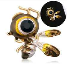 Fashion Women Honeybee Brooch Pins Collar Decoration Badge Corsage Jewelry GBH1