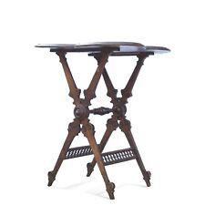 Tisch antik Historismus Beistelltisch mit gedrechselten Elementen
