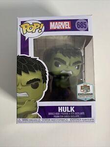 Funko Pop! Marvel #685 HULK Smashing Marvel FUNKO HQ Exclusive Avengers
