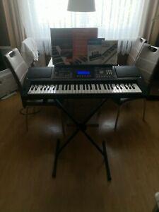 Keyboard LP-6210C mit Ständer und Lernsoftware