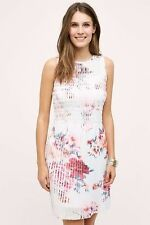 Anthropologie Kas New York Smocked Tangiers Pleated Shift Dress. size M. $148.00