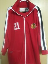 Men's Mitchell & Ness Chicago Blackhawks 21 Stan Mikita Track Jacket Sz 56 3XL