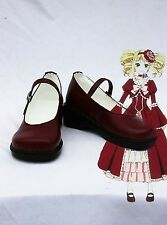 black Butler Cosplay Costume Elizabeth Middleford Boots Boot Shoes Shoe