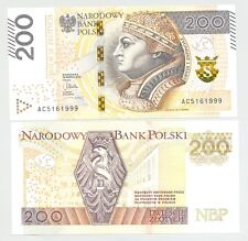 Poland 200 zloty 2015 P-189 UNC issue 2016