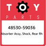 48530-59036 Toyota Absorber assy, shock, rear rh 4853059036, New Genuine OEM Par