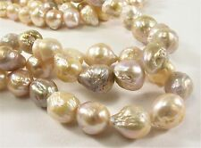 8-11mm Natural Pink Baroque Freshwater Pearl Beads,Cultured Baroque Pearl (#272)