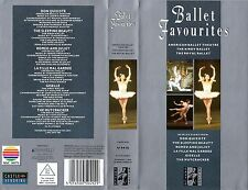 vhs video BALLET FAVOURITES American Ballet Theatre The Kirov Royal Ballet. 1989