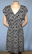 Madison Jersey-Type Dress Size Small 130-Inch Sash Cap Sleeves Belt Perfect For