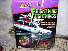 Johnny Lightning Frightning Lightnings Ghostbusters Car MIP  2000 Ambulance