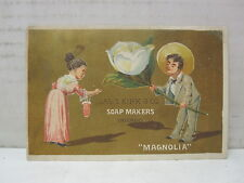Vintage Jas. S. Kirk & Co. Soap Makers Chicago, Illinois Trade Card