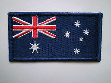 BULK Special 10 X 100 Embroidered Iron on Aussie Australia Flag Patch 8x4cm