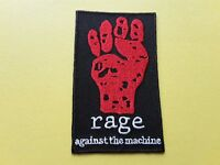 POP, ROCK, PUNK, METAL MUSIC SEW ON & IRON ON PATCH:- RAGE AGAINST THE MACHINE