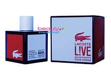 Lacoste Live Pour Homme 3.3oz / 100ml EDT Spray NIB Sealed Men's Cologne