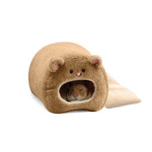 Pet Warm Winter Guinea Pig Bed House Small Animal Hamster Rat Soft Hammock Nest