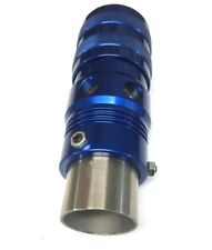 Adjustable Blue Blow Off Valve - Universal Fitment BOV For Intercoolers