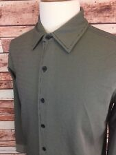 Kenneth Cole New York Men's Front Button Shirt Size Small (F3)