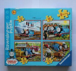 Thomas & Friends Tank Engine Jigsaw x 4 Ravensburger 12 16 20 24 Pieces 3+