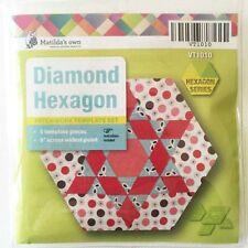 Diamond Hexagon Patchwork Template Set  Matildas Own