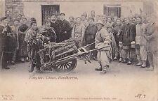 K 344 - Kiautschou Tsingtau, chinesischer Handkarren, Typen