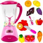 Realistic Blender Kitchen Appliance Toy Set for Kids with Lights Music - 13 Pcs