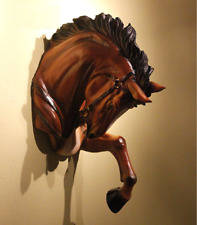 War Horse Head 1/1 Model Wall Hanging Wall-Mounted Sculpture Decor Collectibles