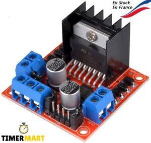 L298N Double pont en H contrôleur moteur stepper pour Raspberry Arduino