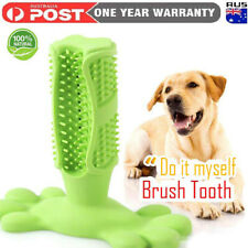 Dog Toothbrush Toy Clean Teeth Brushing Stick Pet Brush Mouth Chewing Clean