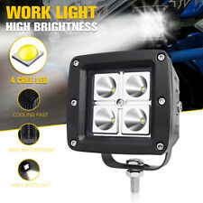 "3"" CREE LED Work Light Fog Driving Spot Lamp Car OffRoad Motorcycle High Beam"