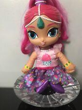 """Fisher-Price Shimmer & Shine Singing Birthday Wishes Soft Plush Doll 12"""" Genie"""